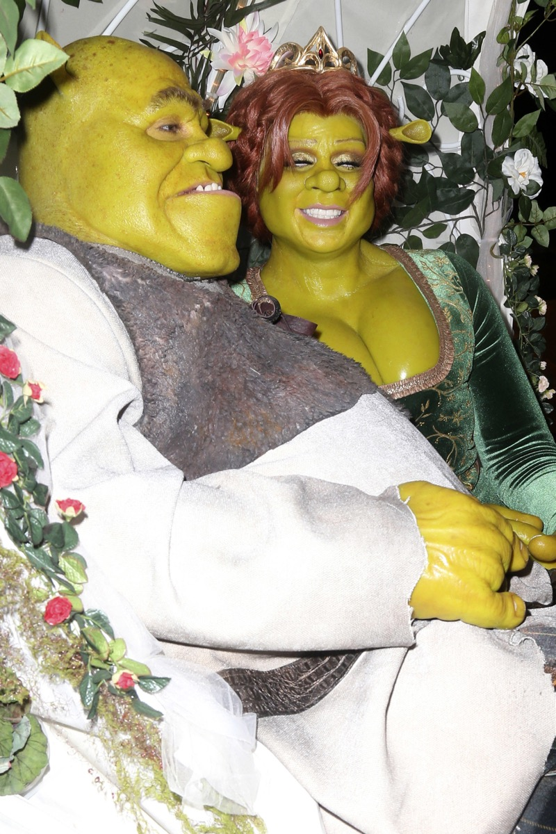 Heidi Klum as Fiona celebrity halloween costumes