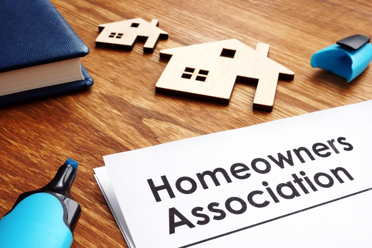 homeowners association paperwork