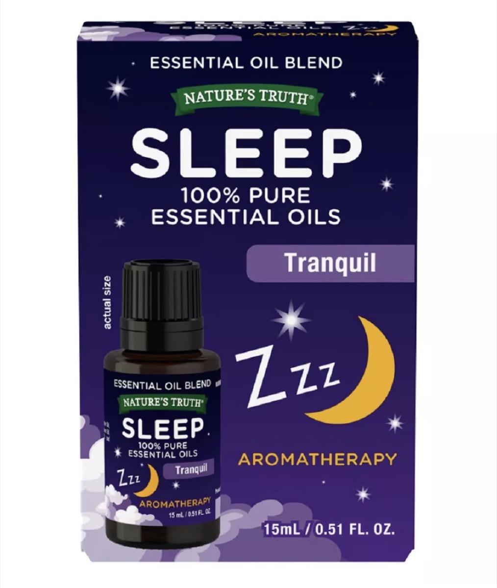 purple box of essential oils, better sleep essentials