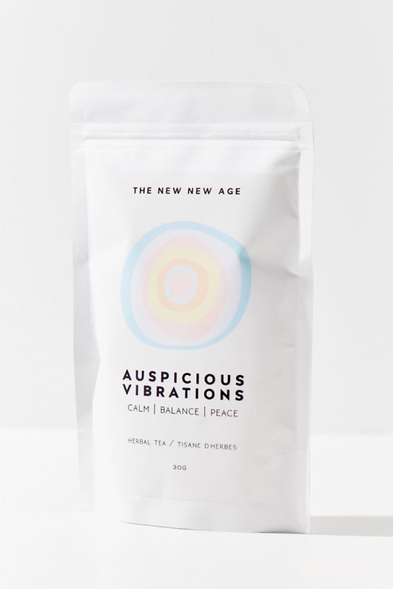 packet of herbal tea, better sleep essentials