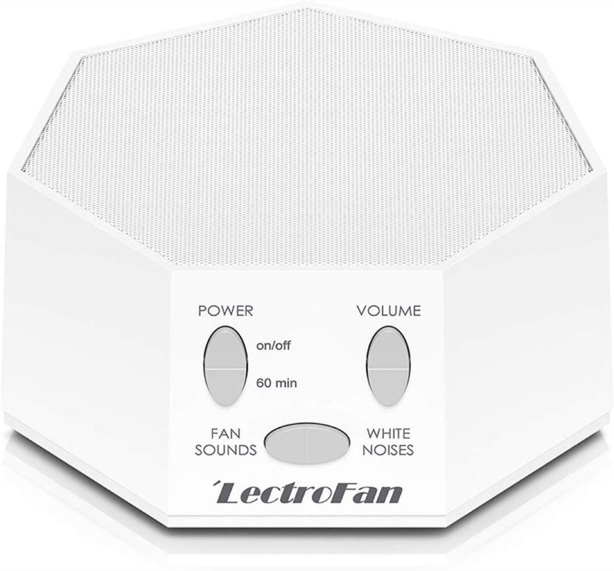lectrofan white noise machine, better sleep essentials