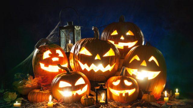 scary looking jack-o-lanterns, origin story