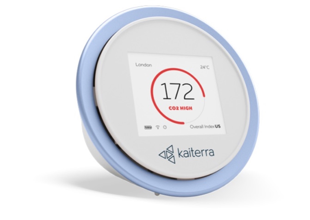 kaiterra laser egg circular air quality monitor