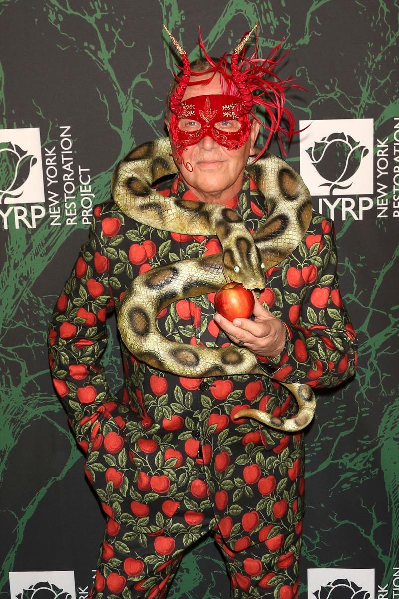 Michael Kors as the garden of eden celebrity halloween costumes