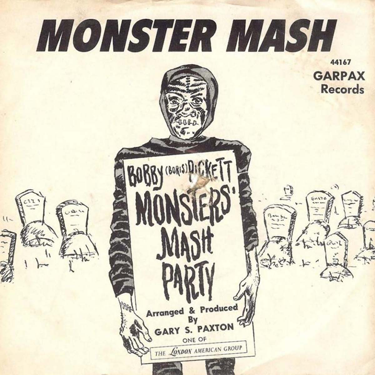 monster mash record, a 1960s one-hit wonder