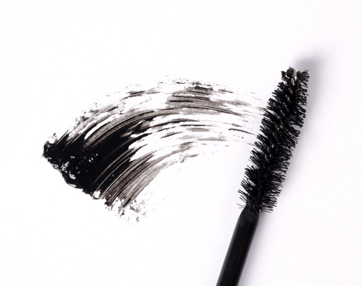 old mascara wand, getting rid of junk