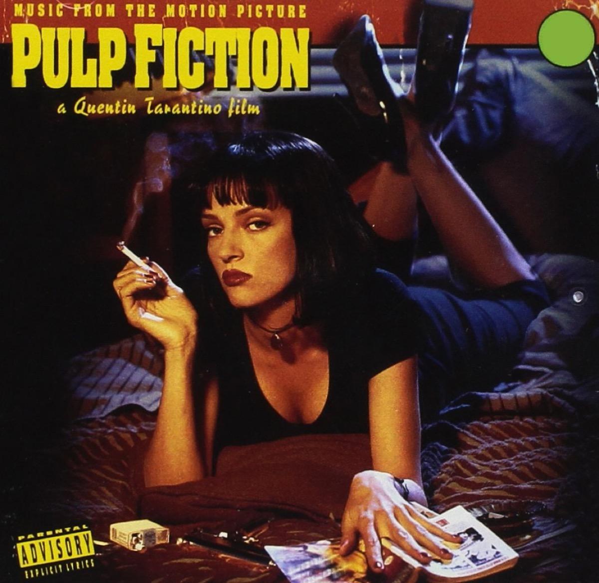 pulp fiction movie soundtrack album cover