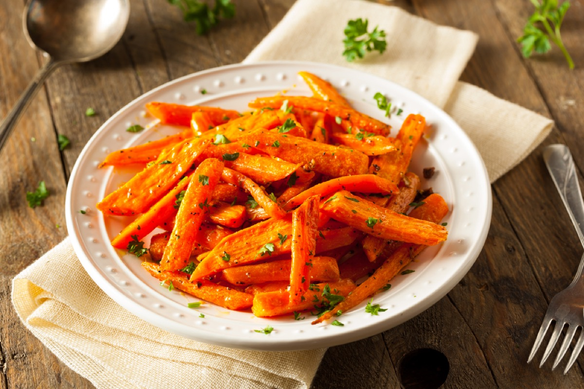 cooked carrots in white bowl, rosh hashanah facts
