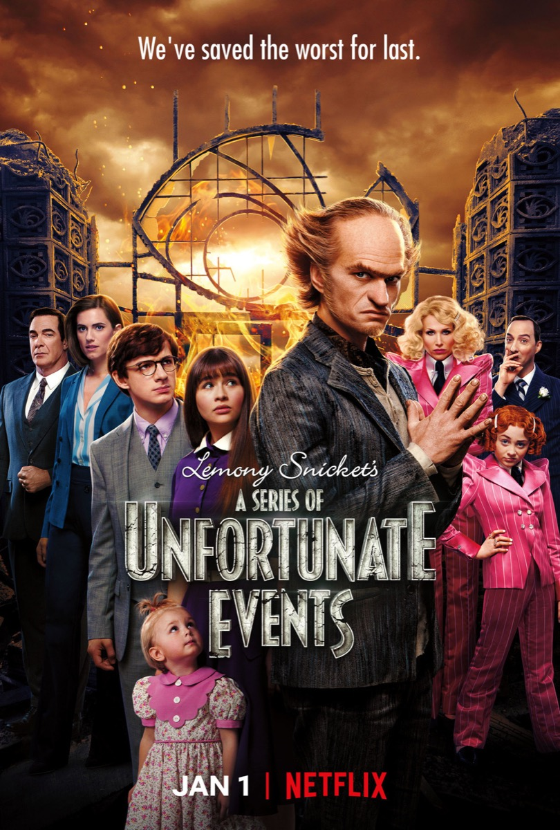 Series of Unfortunate Events TV Show Books TV Shows