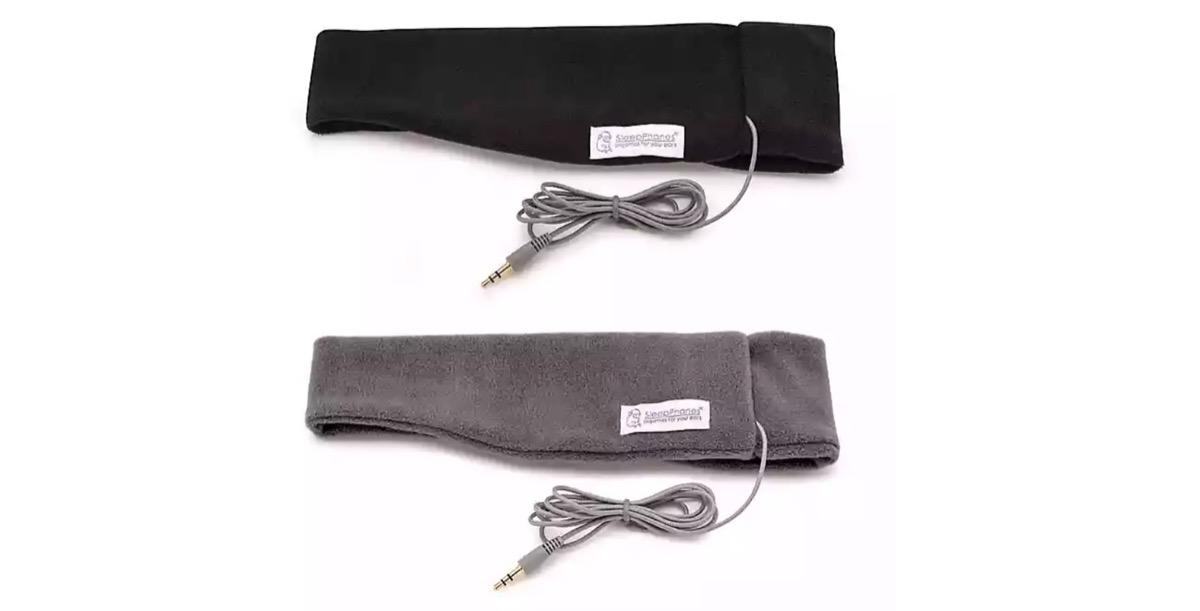 two headphone headbands, better sleep essentials