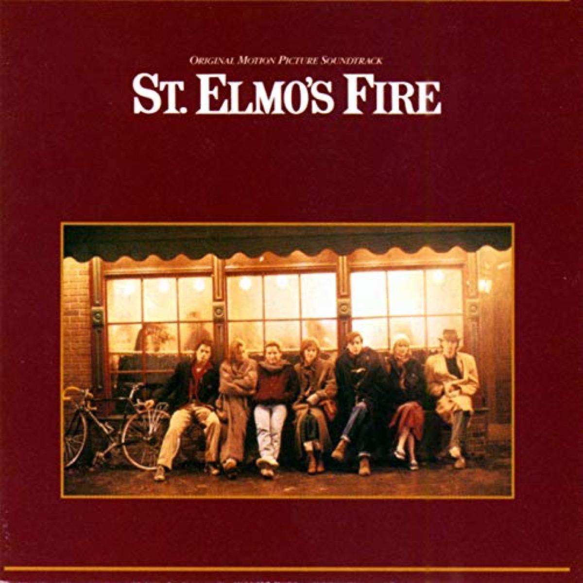 st elmos fire movie soundtrack album cover