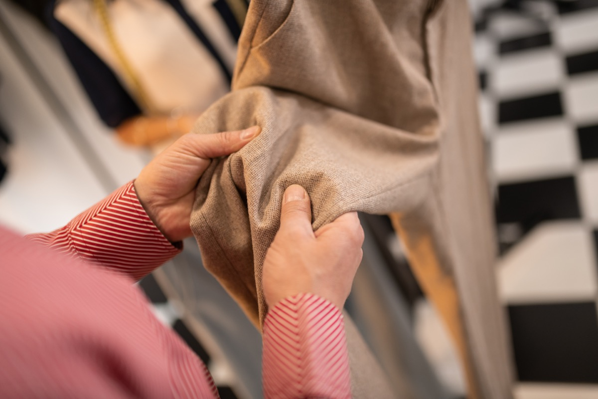 checking textile style tips over 40
