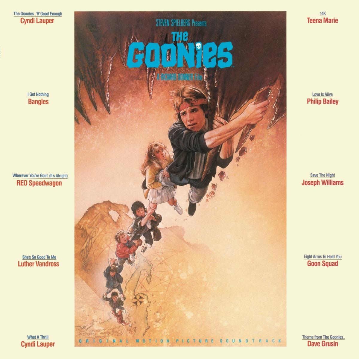 the goonies movie soundtrack album cover