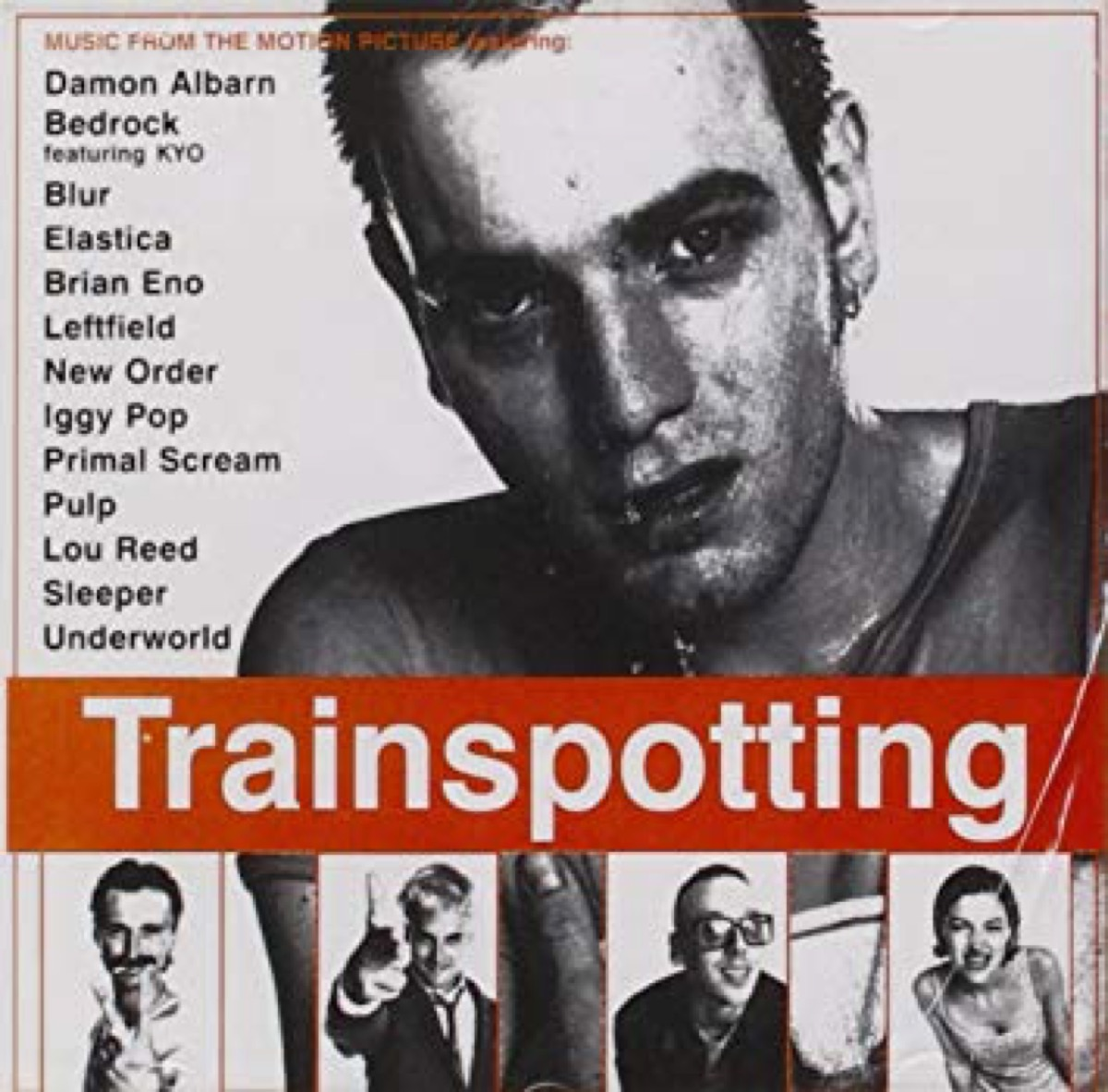 trainspotting movie soundtrack cd cover