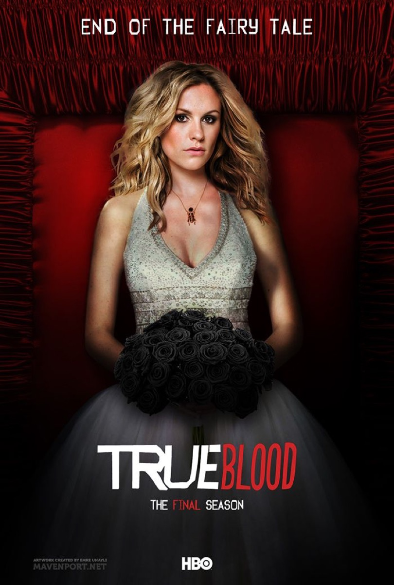 True Blood Poster Book-to-TV Adaptations