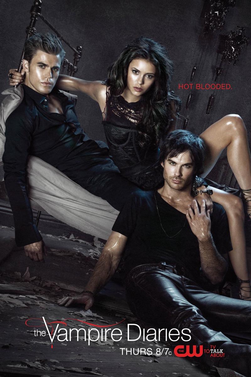 Vampire Diaries TV Show Book-to-tv adaptations