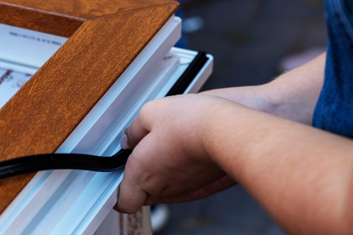weatherstripping windows, fall home upgrades