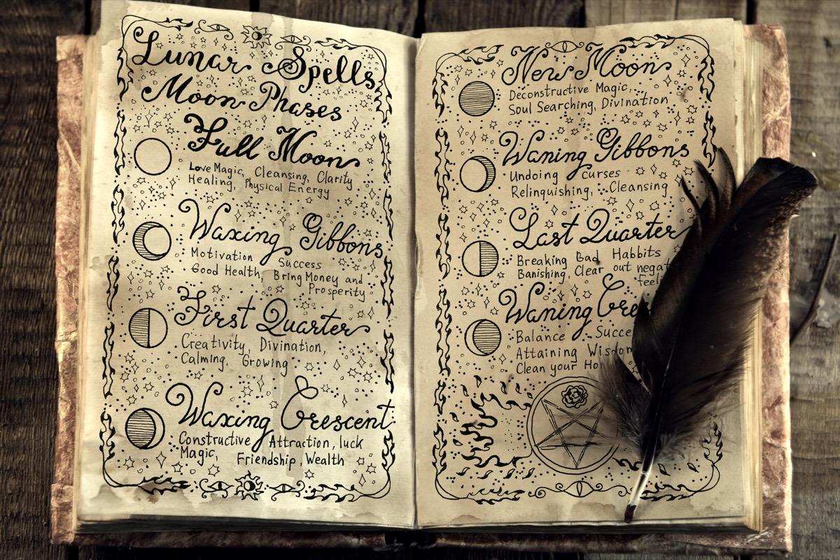 wiccan book