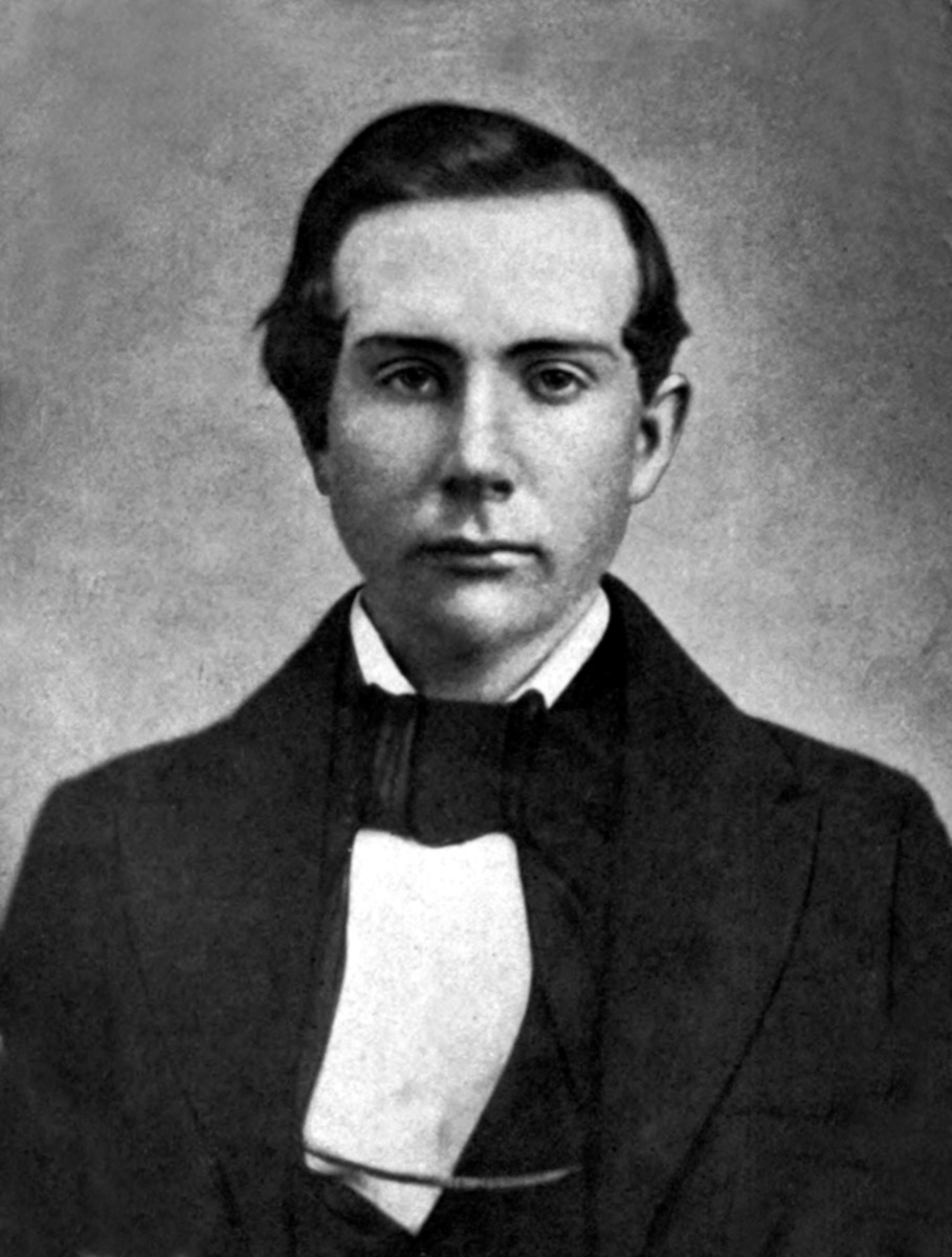 A young John D. Rockefeller