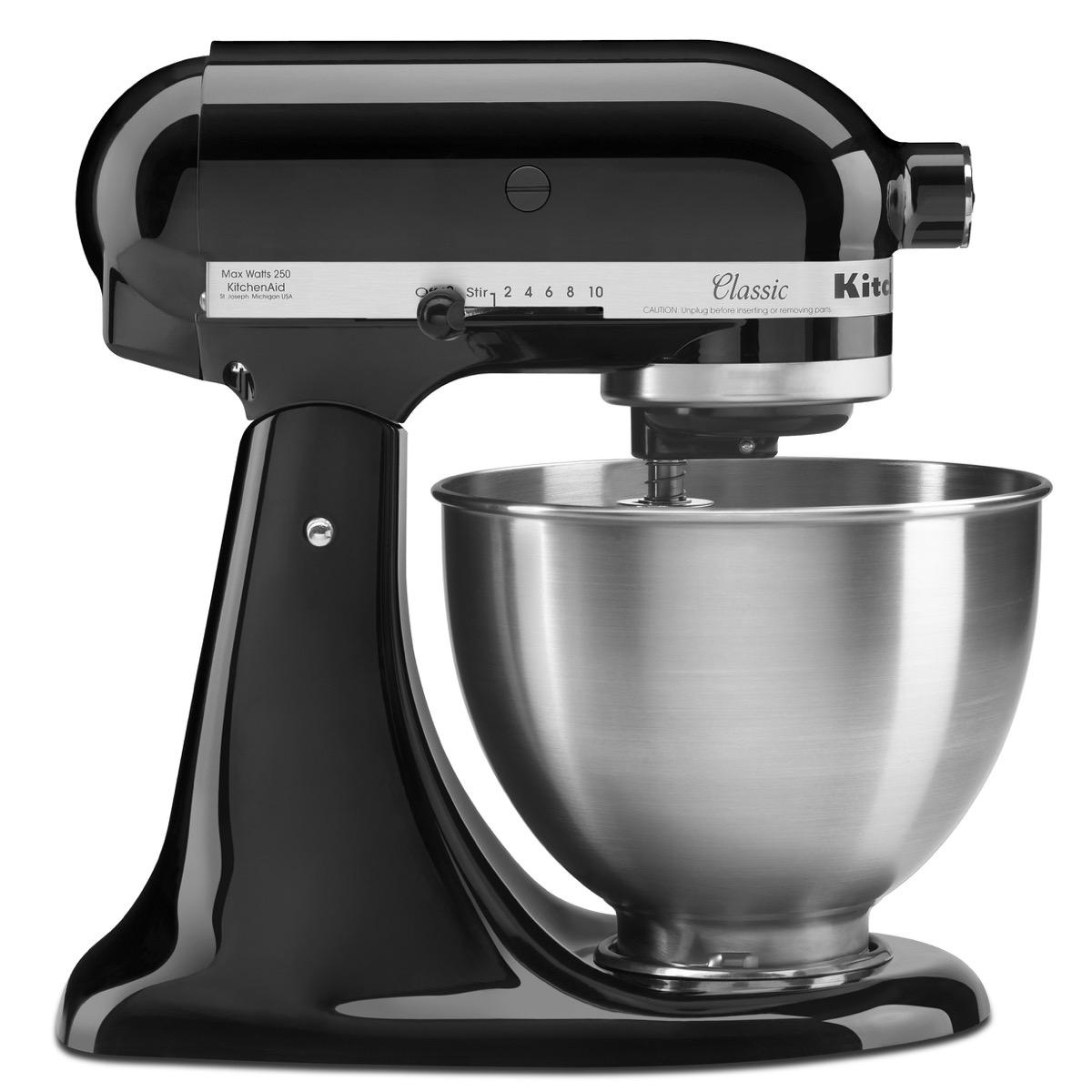 black kitchenaid classic mixer
