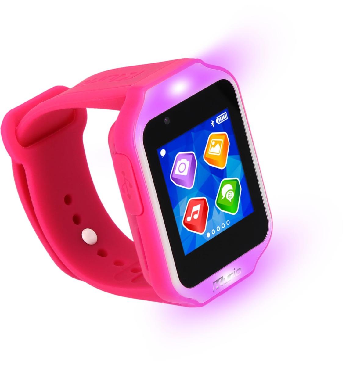 pink kids smartwatch