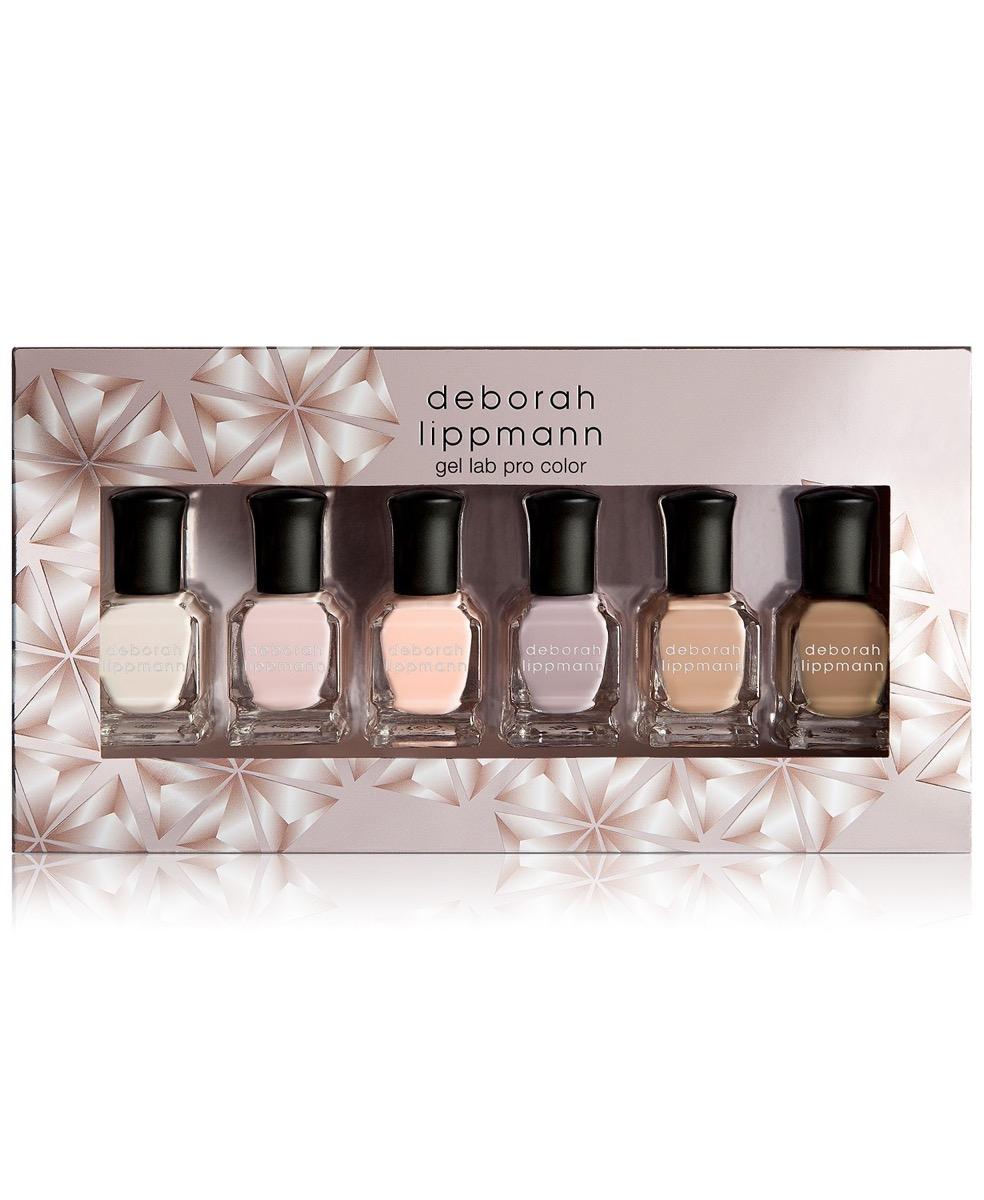 6 piece nail polish set