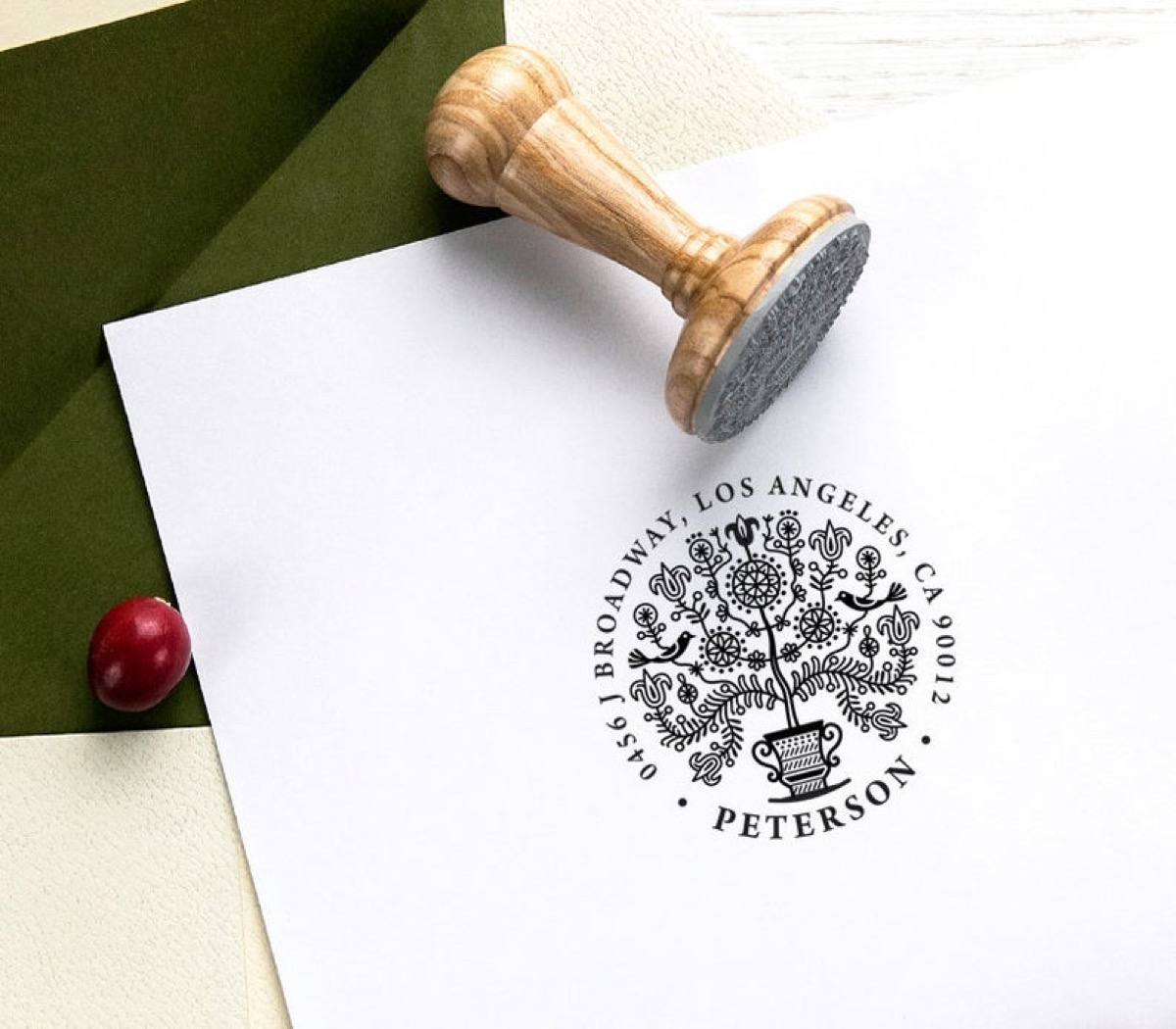 book stamp and sample stamp