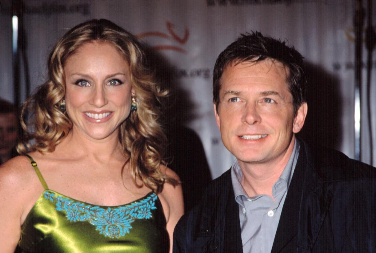 Michael J. Fox & Tracy Pollan