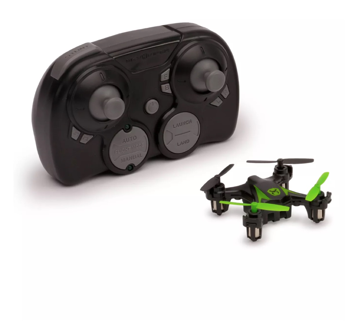 skyviper mini drone in green and black with black and gray controller