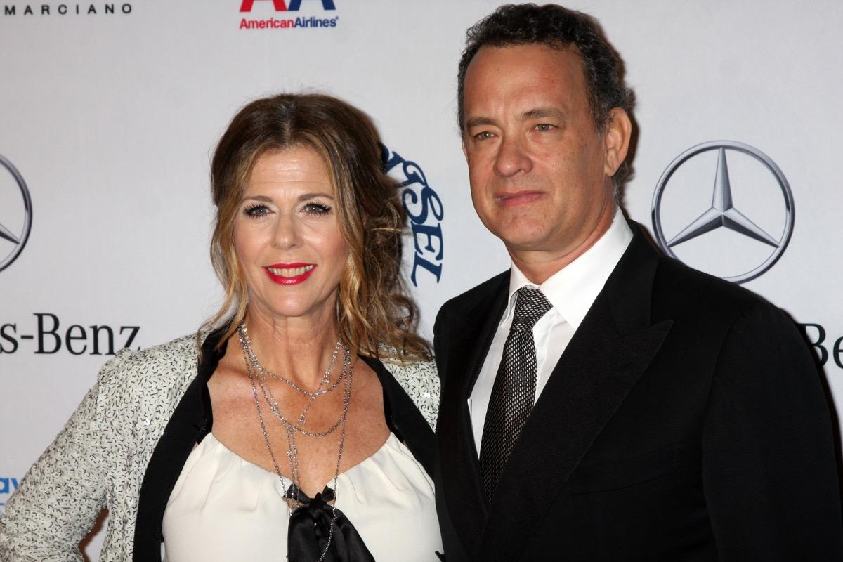 Tom Hanks & Rita Wilson