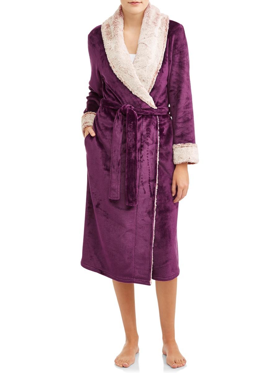 secret treasures bathrobe