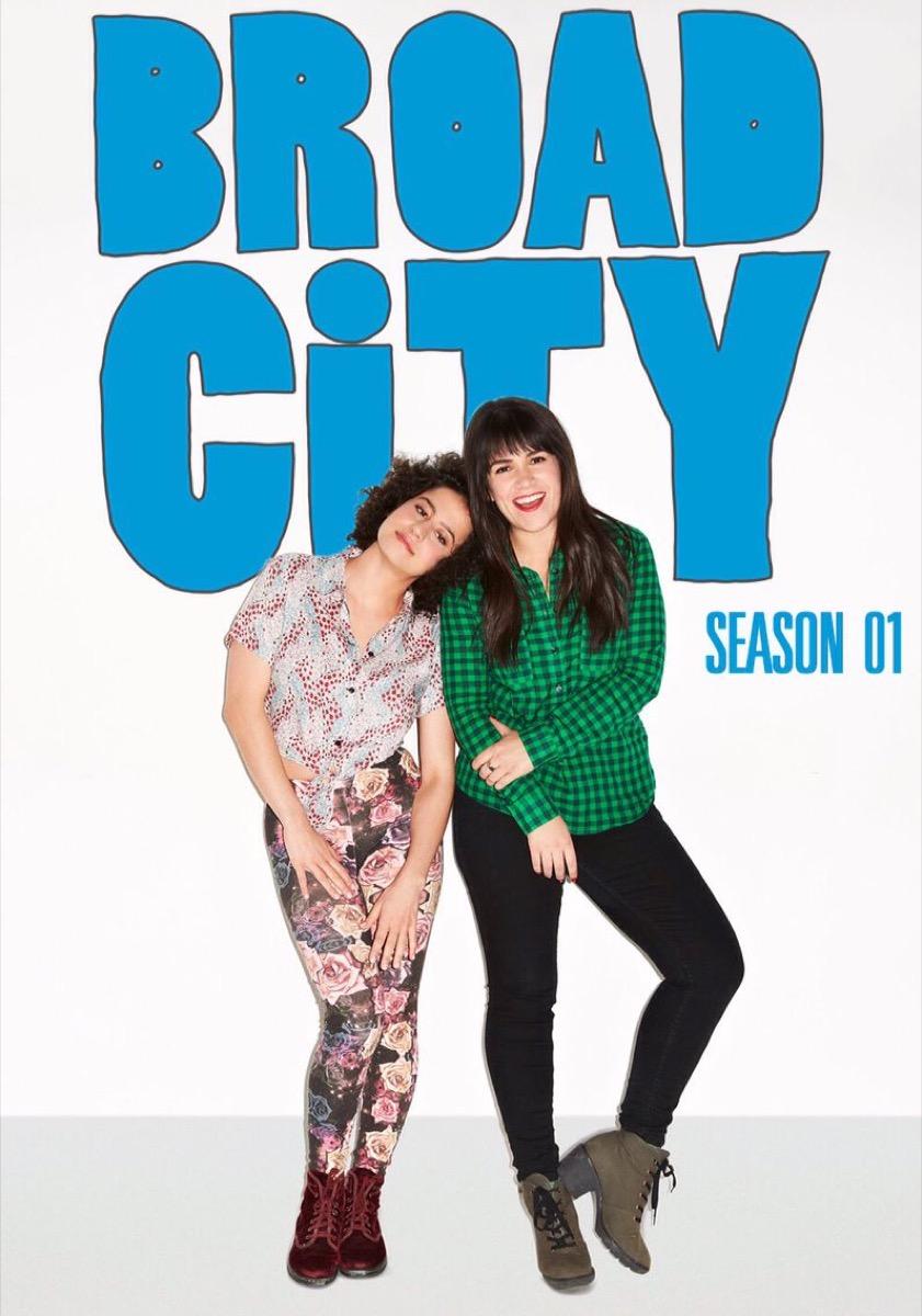 Broad City tv poster