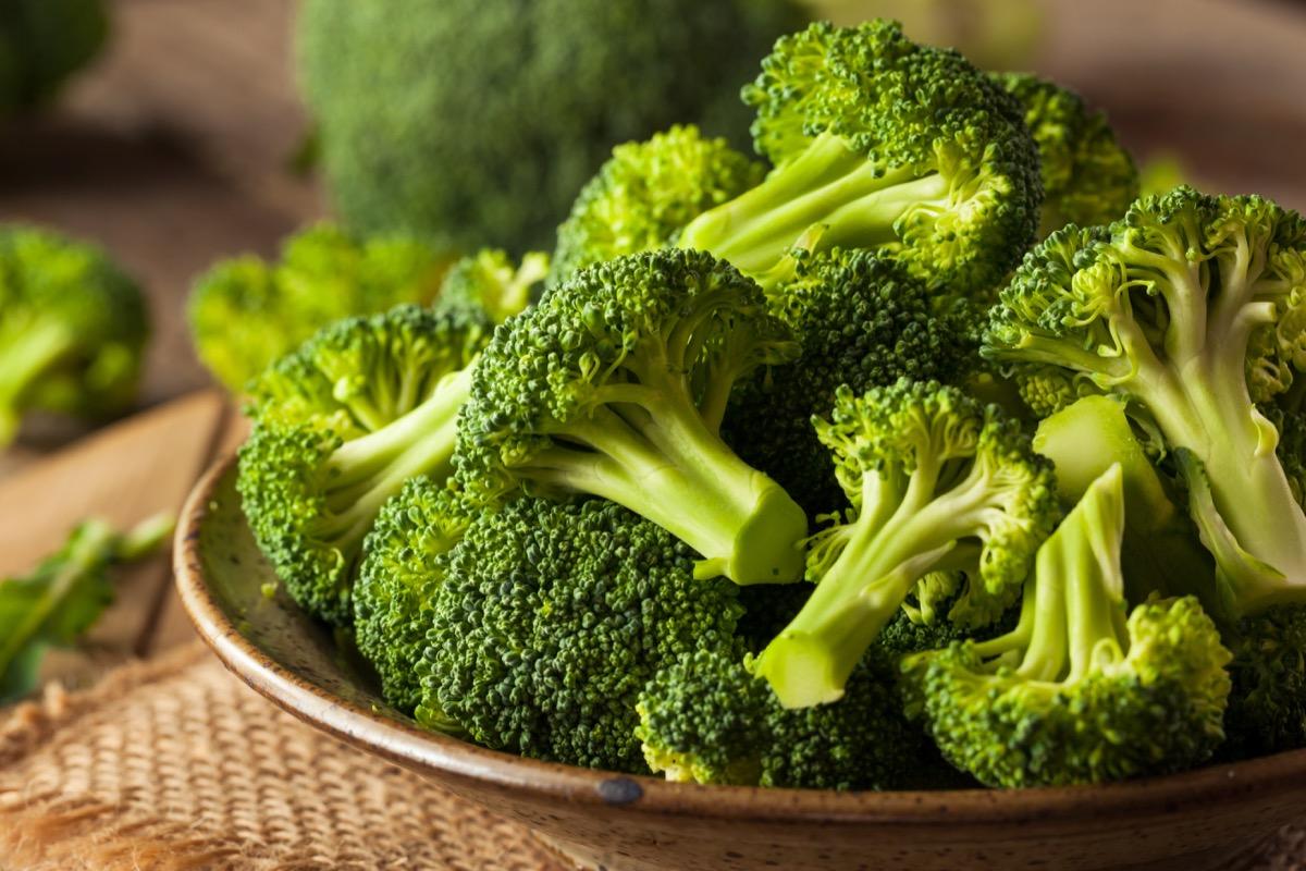 Broccoli on a plate
