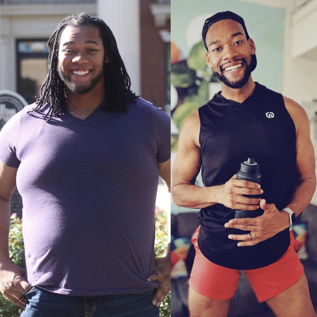 deandre weight loss story