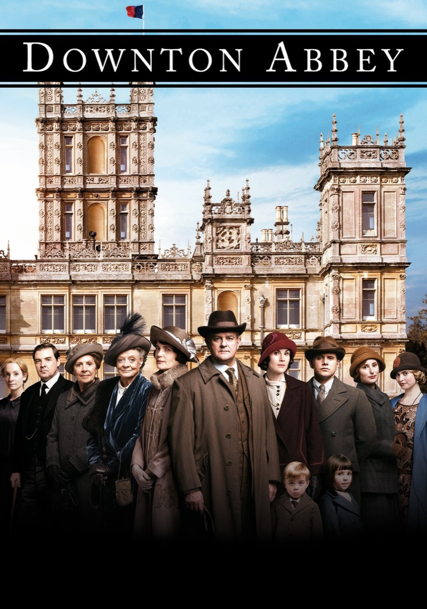Downtown Abbey TV show poster