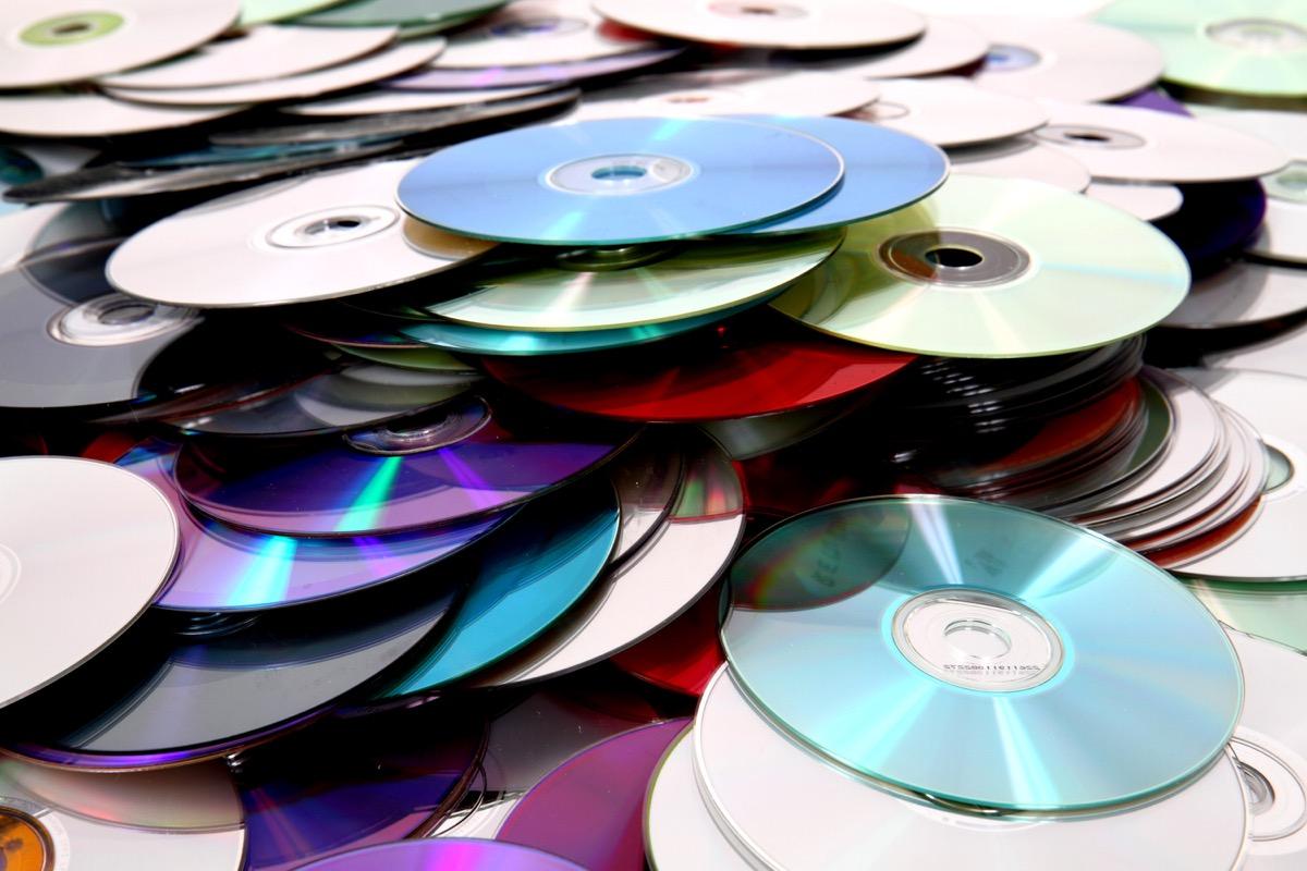 empty CDs