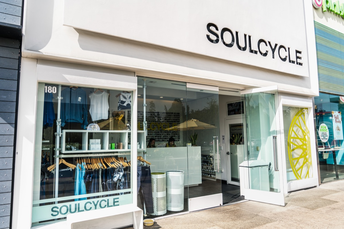 exterior of a soulcycle
