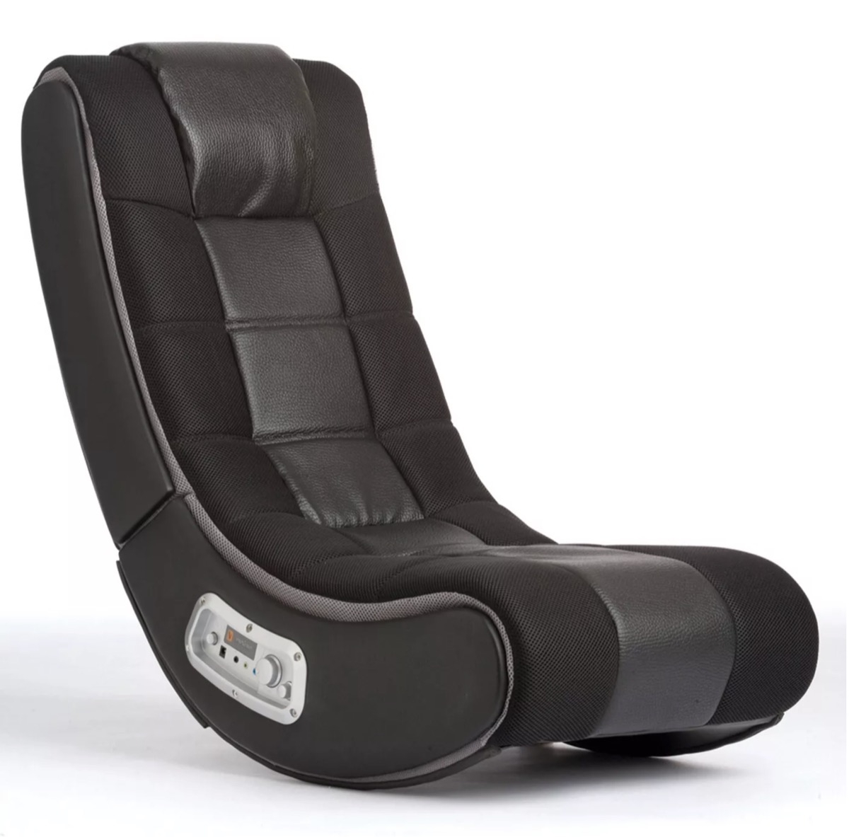 gaming chair black and grey
