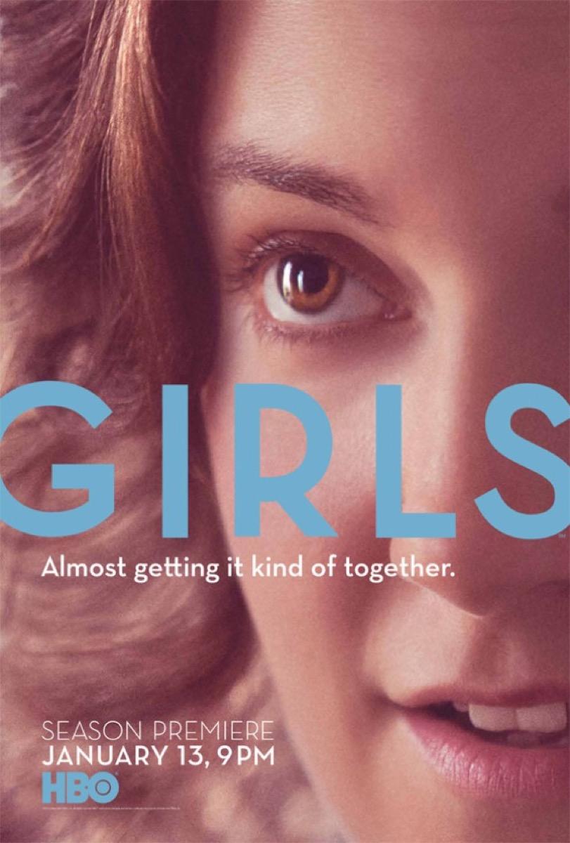 Girls season 2 poster HBO