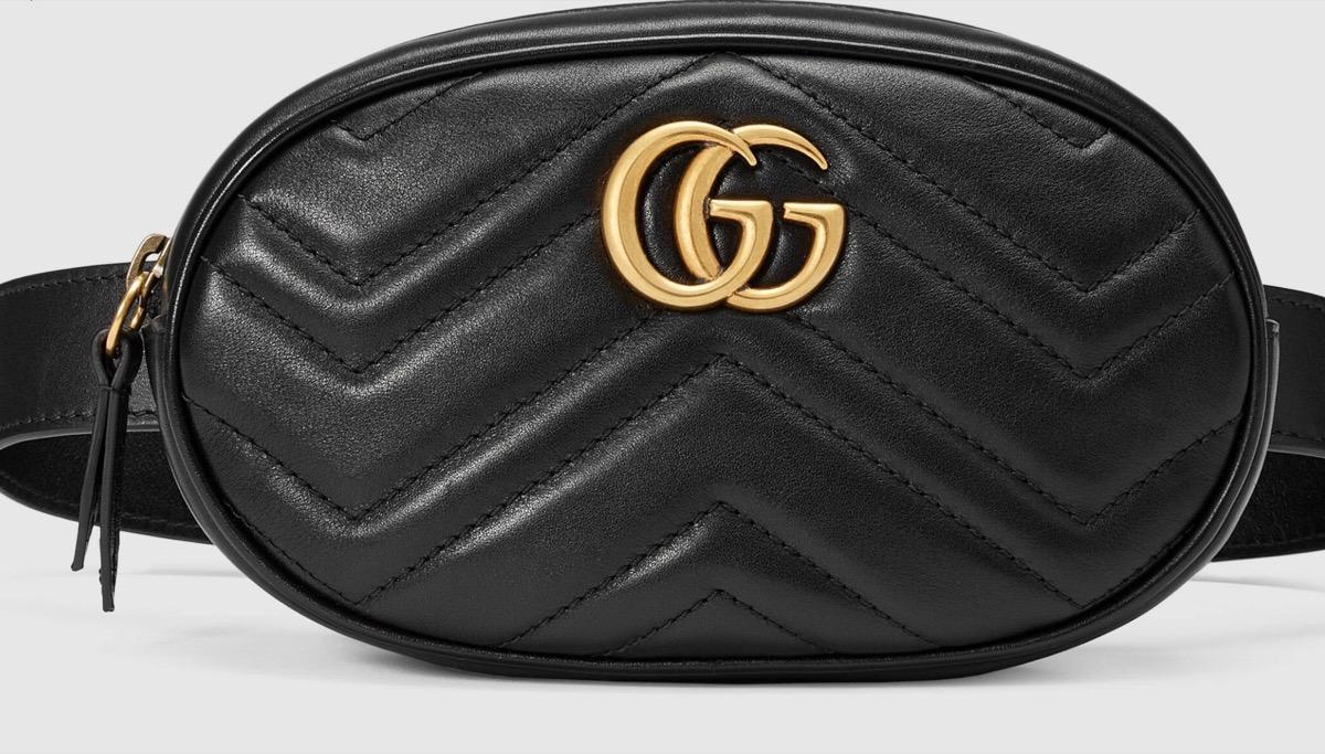black gucci belt bag