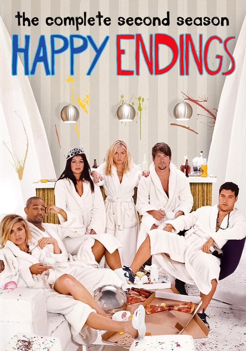 Happy Endings tv show poster