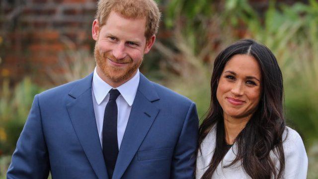 Prince Harry and Meghan Markle attend a photo call at Kensington Palace to mark their engagement Featuring: Prince Harry, Meghan Markle Where: London, United Kingdom When: 27 Nov 2017 Credit: John Rainford/WENN.com