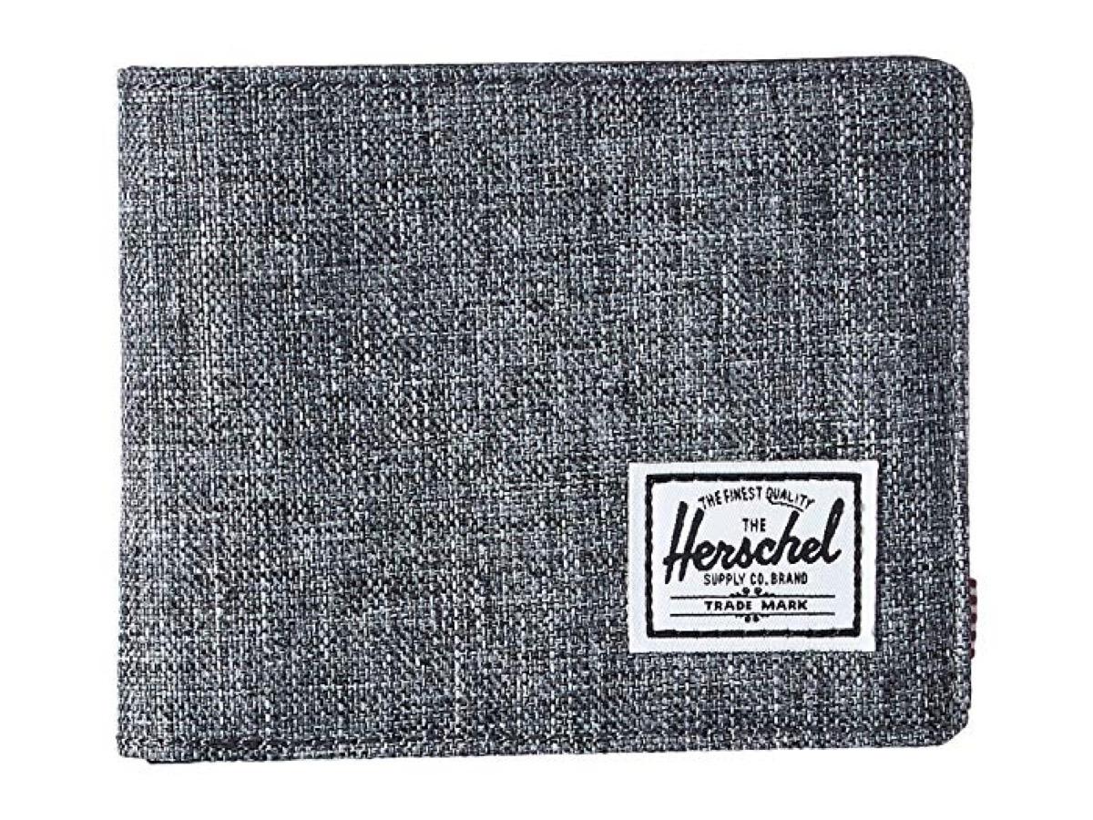 gray herschel wallet