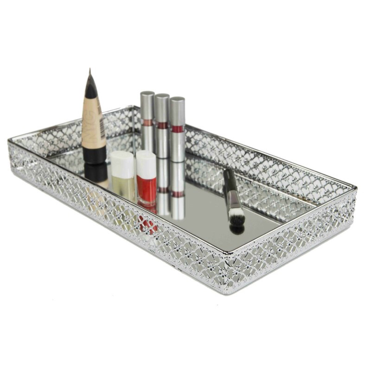 hesson mesh vanity tray