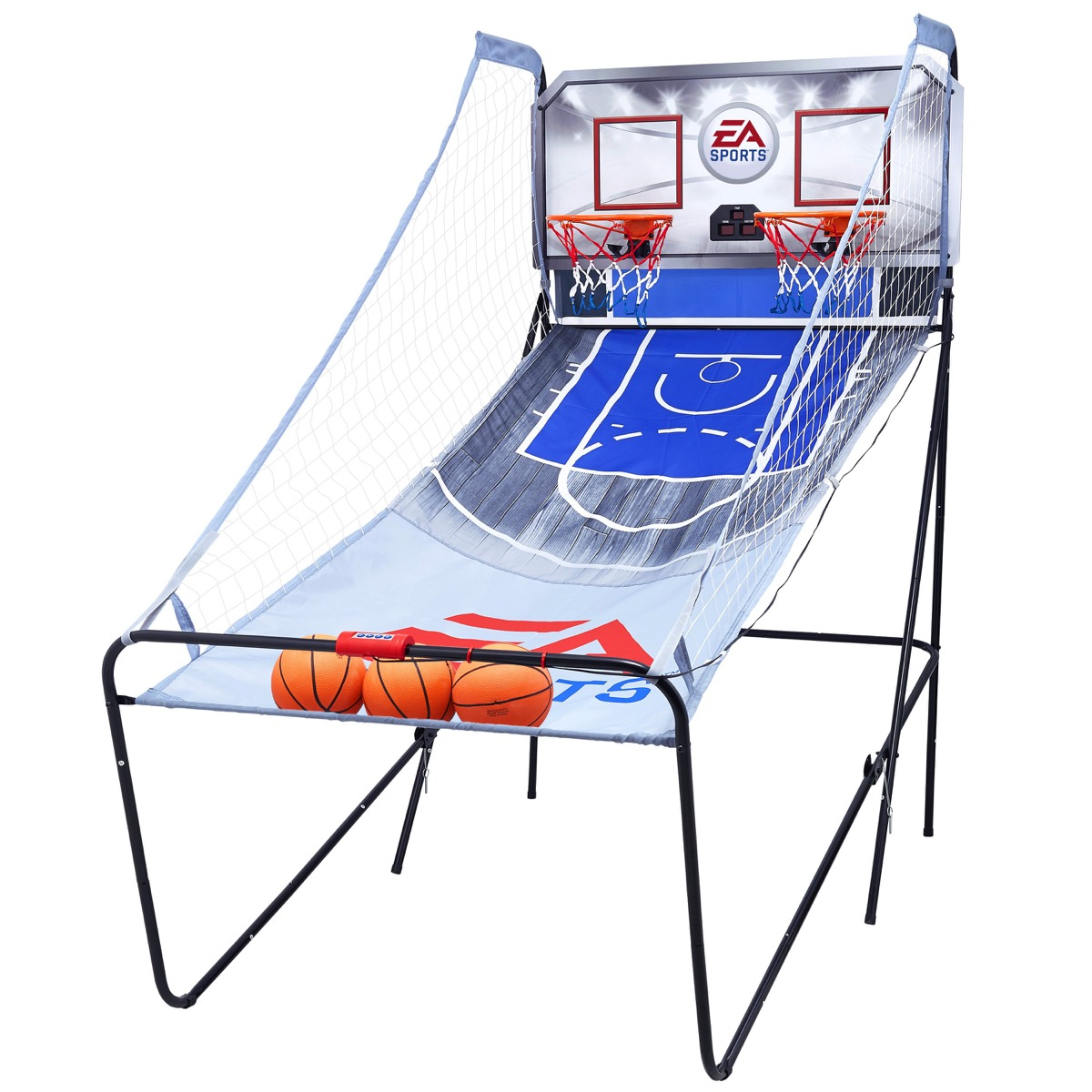 indoor basketball arcade