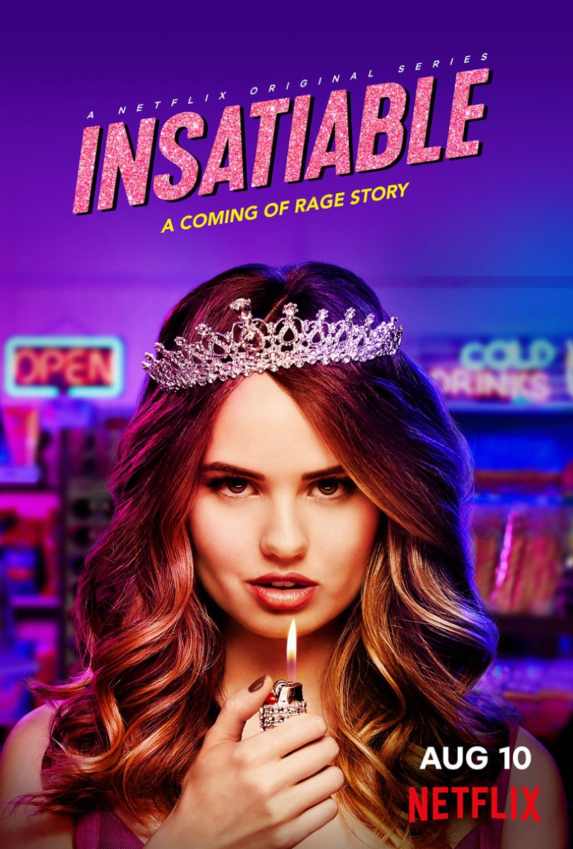 Poster for the Netflix TV show Insatiable