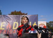 jane fonda attends Fire Drill Fridays protests against climate change in Washington D.C.