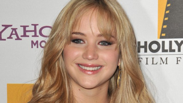 jennifer lawrence in 2010 on the red carpet