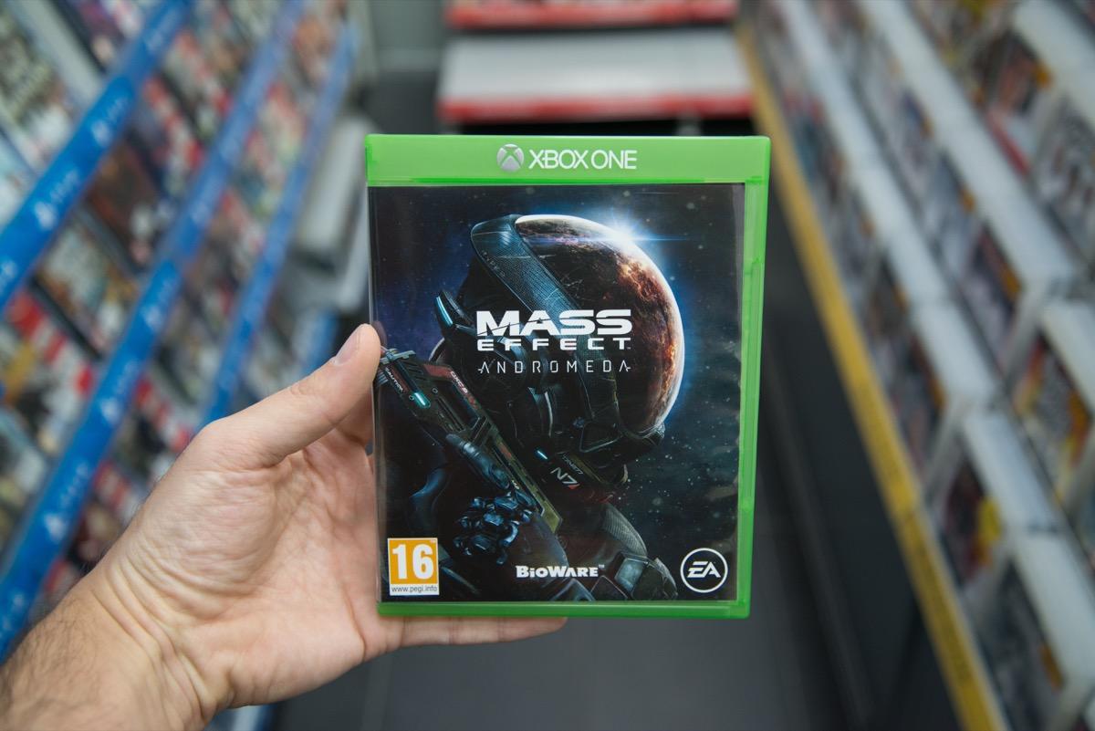 mass effect videogame