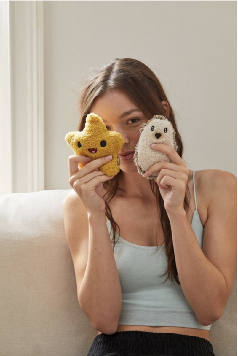 mini huggable cooling and heating pads